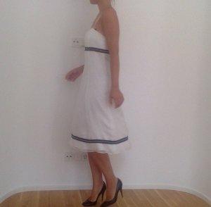 weißes Seidenkleid, Größe 38