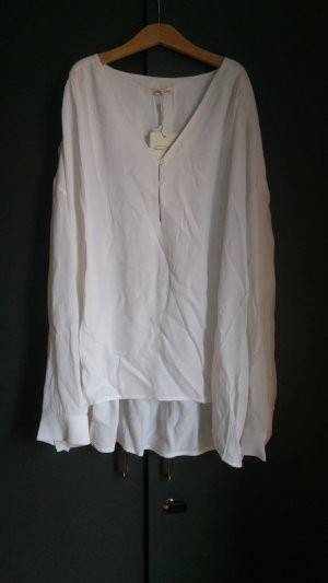 American Vintage Long Sleeve Blouse white-natural white viscose