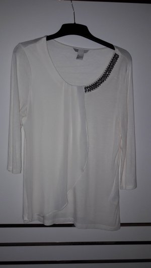 Weißes Shirt, Größe L, H&M