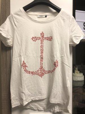 Weißes Shirt, Größe S
