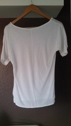 Weißes Shirt in Größe S
