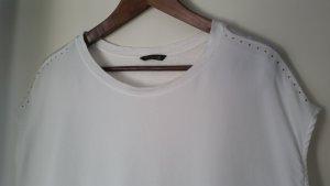 Weißes Shirt Massimo Dutti