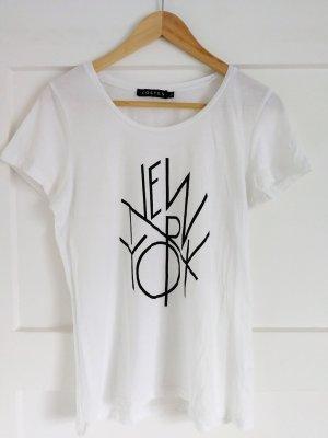 Weißes Shirt mit coolem Print
