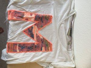 Weißes Shirt mit einem M