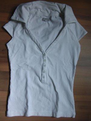 Weißes Shirt mit Kragen von Stefanel