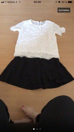 Pimkie Twin set wit-zwart