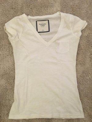 Weißes Shirt von Abercrombie, casual style