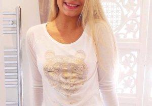 Weißes Shirt von Hollister
