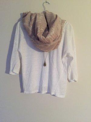 Weißes Shirt von Massimo Dutti