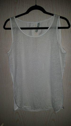 Weißes Shirt von Stradivarius
