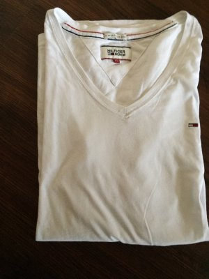 Weißes Shirt von Tommy Hilfiger in Größe XL