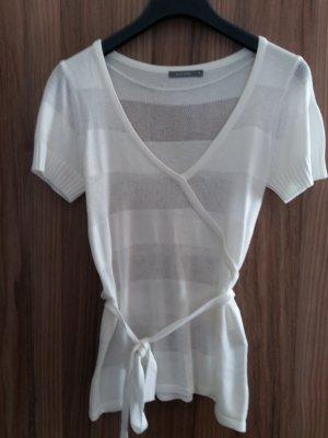 Weißes Shirt von Zero Basic in Größe 38