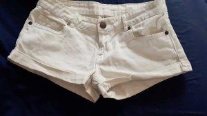 weißes Shorts Damen