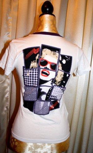 Weißes Silvian Heach Shirt