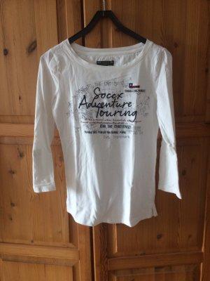 Soccx Print Shirt white