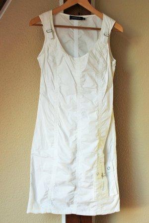 weißes Somerkleid ohne Ärmel