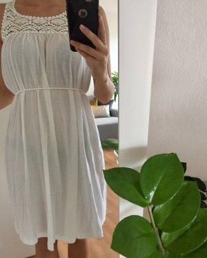Weißes Sommer Kleid weiß