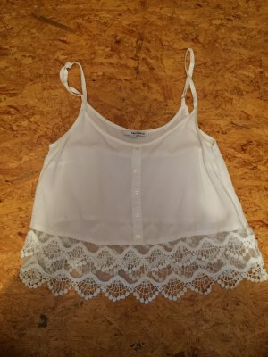 Weißes Sommer Top in S