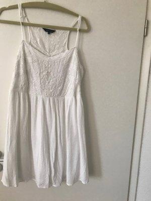 New Look Babydoll Dress white