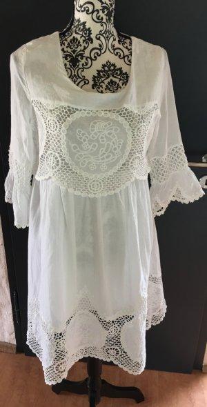 Weißes Sommerkleid aus Italien