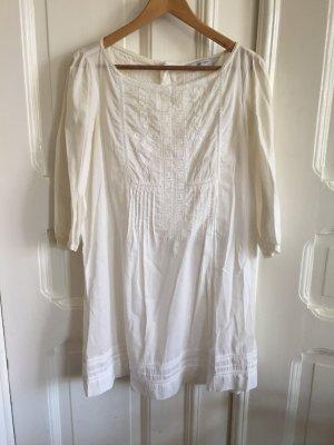Weißes Sommerkleid; Baumwolle Bohemian Zara