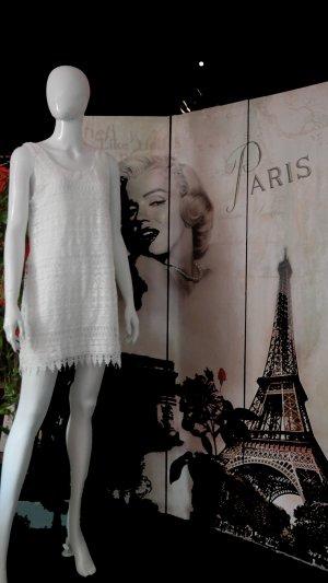 Anna Dello Russo for H&M Robe de soirée blanc coton