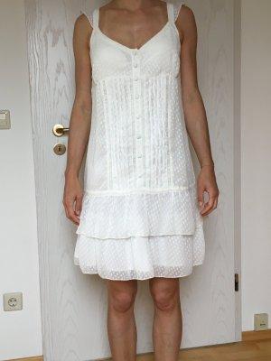 weißes Sommerkleid, Gr. 36/38