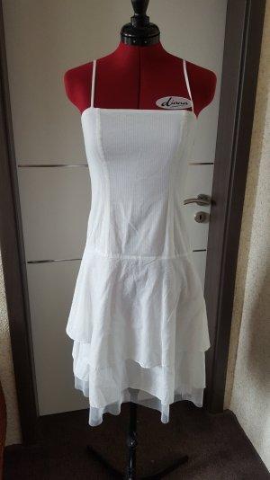Weißes Sommerkleid  Gr. 36 ICHI