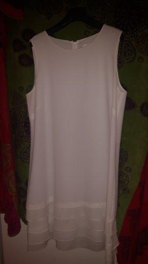 Weißes Sommerkleid Größe 42