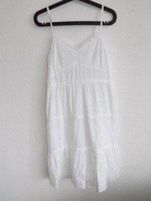 Weißes Sommerkleid, Größe M