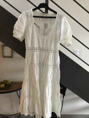 Weißes Sommerkleid mit cut outs von Noa Noa in XS