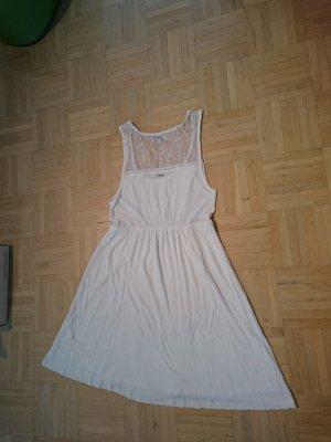 Weißes Sommerkleid Spitze