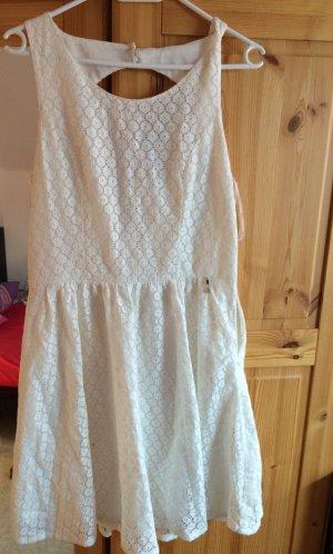 Weißes Sommerkleid von Only, Größe L