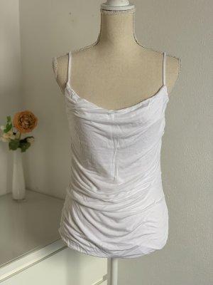 H&M Cowl-Neck Top white