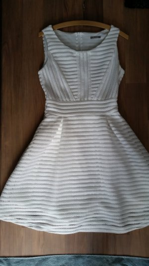 Weißes spitzen Kleid in Gr.38 von Orsay