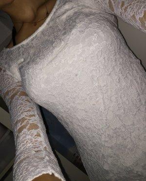 Weißes spitzen shirt (fällt groß aus)