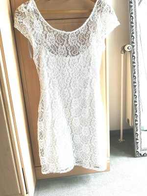 Abercrombie & Fitch Shortsleeve Dress white
