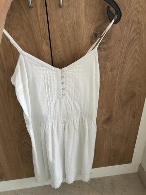Weißes Spitzenkleid/Long Shirt Größe s