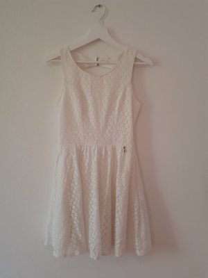 Only Lace Dress white