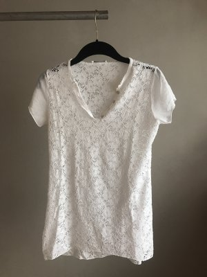 Crochet Shirt white