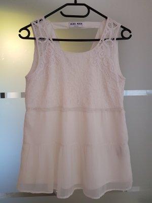 Vero Moda Lace Top white polyester