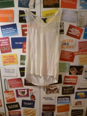 Weißes Spitzentop von H&M, Lace, Oversize, Blogger, Romance, Vintage