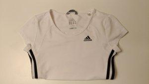 Weißes Sport Shirt von Adidas