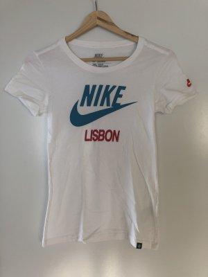 Weißes Sport Shirt von Nike
