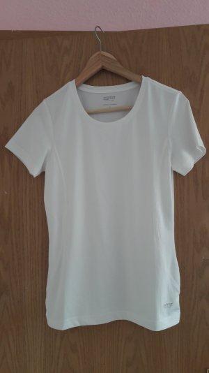 Weißes Sport Tshirt von Esprit