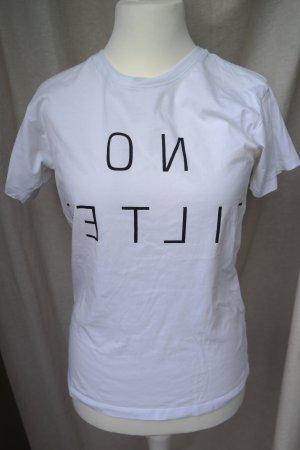 Weißes Statement T-shirt