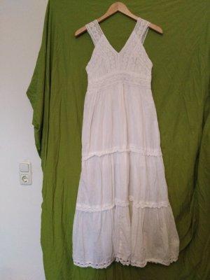 Weißes Strandkleid