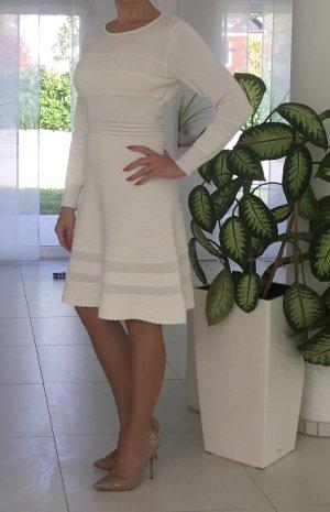 Weißes Strickkleid gr.36