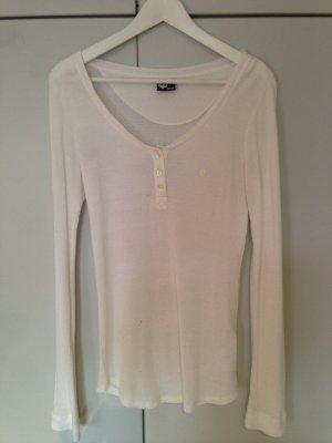 weißes Sweatshirt von Street One, Gr. 38