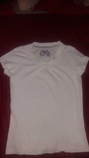 Weißes T-Shirt aus der Türkei